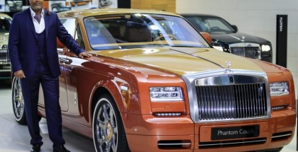Rolls-Royce unveiling of Phantom Coupé Tiger, Ghost Golf and Wraith 'Inspired by Music' (4)