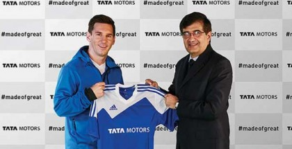 Tata Motors partners with Lionel Messi as the global brand ambassador