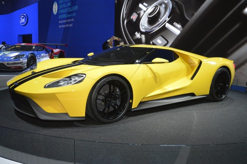 Yellow Ford Gt Concept Looks Fantastic