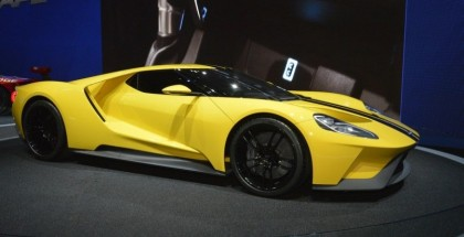 Yellow Ford GT concept looks fantastic (9)
