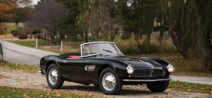 1959 BMW 507 Roadster Series II expected to bring $2,300,000 to $2,600,000 (16)