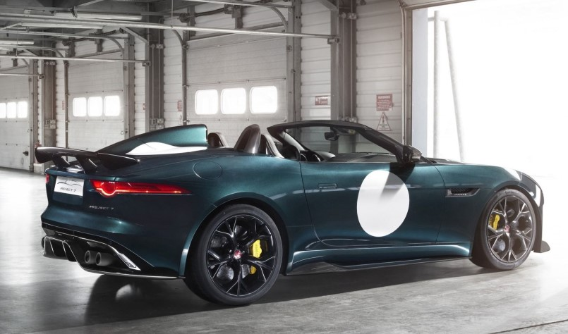 2016 jaguar f type project 7 for sale on ebay usa dpccars. Black Bedroom Furniture Sets. Home Design Ideas