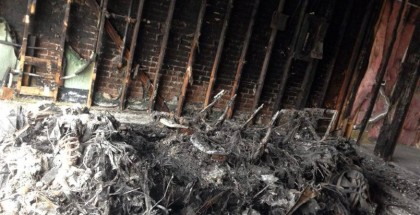 BMW i3 burnt to ashes in garage (3)