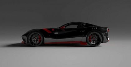 Carbon Body for Ferrari F12tdf will drop weight by 350lbs (2)