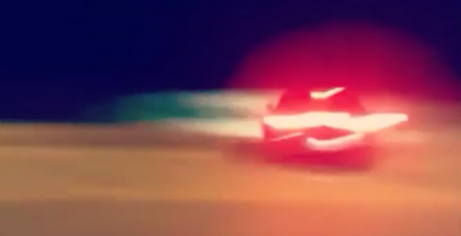 Challenger Hellcat loses control while street racing (1)
