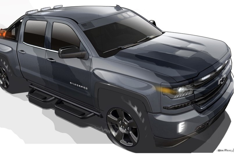 chevy silverado special ops concept will be produced dpccars. Black Bedroom Furniture Sets. Home Design Ideas