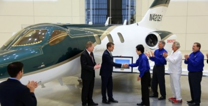 Customer received the first HondaJet (12)