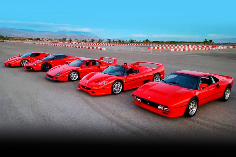 Laferrari Top View >> Drag Race – Ferrari 288 GTO vs F40 vs F50 vs Enzo vs LaFerrari – PART 3 | DPCcars