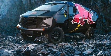F-22 Raptor Fighter Jet-Inspired Land Rover by Red Bull (6)