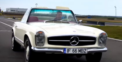 Fifth Gear - 1966 Mercedes Benz 230SL and the 1969 MGC (1)