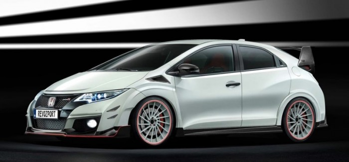 honda civic type r with revozport body kits 10th gen. Black Bedroom Furniture Sets. Home Design Ideas