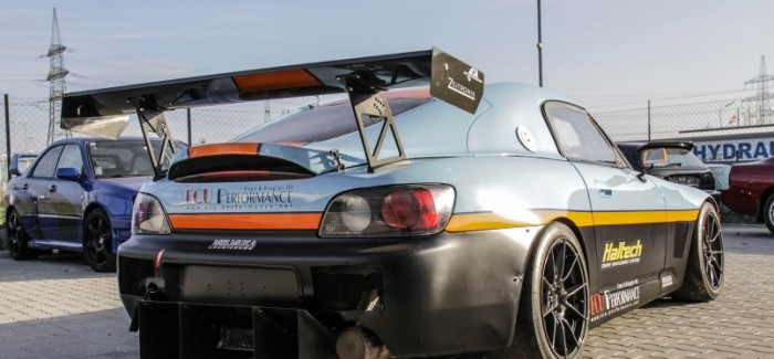 Honda S2000 with 450HP Honda NSX Engine swap