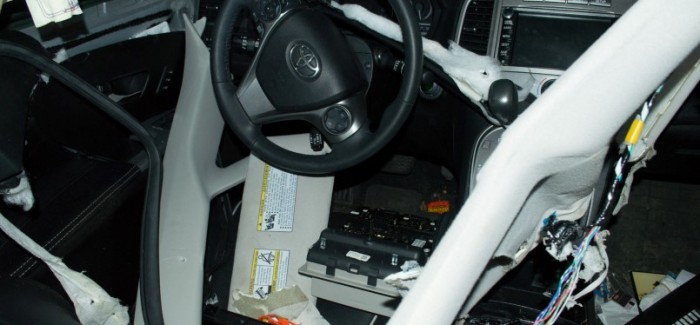 Hungry Bear Tears Up Toyota Venza Interior To Find Candy