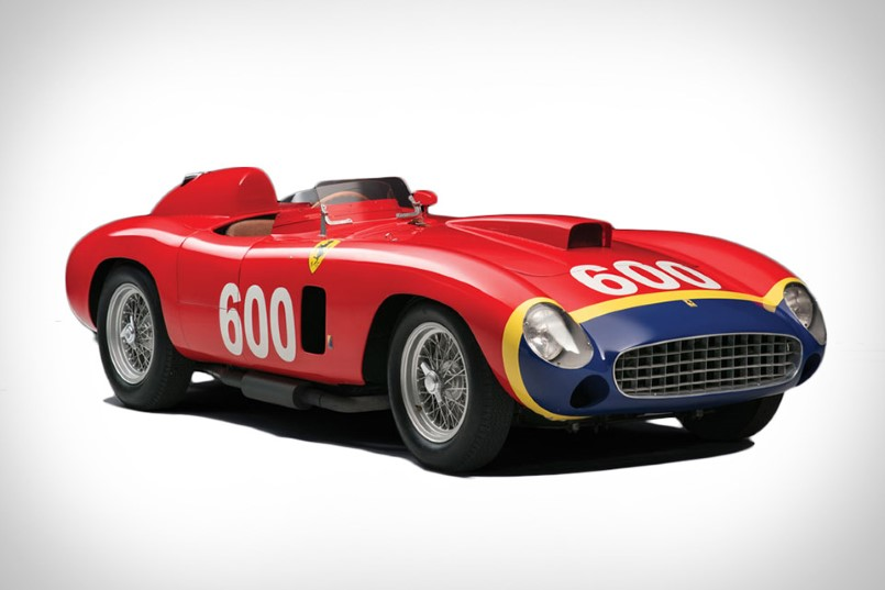 juan manuel fangio 1956 ferrari race car sold for 28 million dpccars. Black Bedroom Furniture Sets. Home Design Ideas