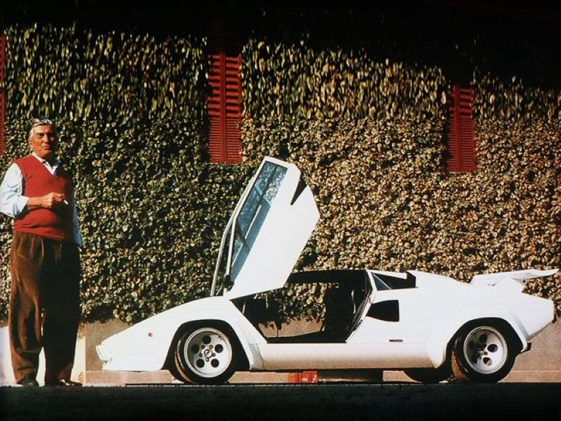 Lamborghini Founder Is Getting His Own Movie Video Dpccars