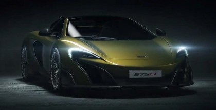 McLaren 675LT Spider photos and video leaked (1)