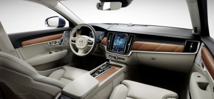 New Volvo S90 interior with video – Video