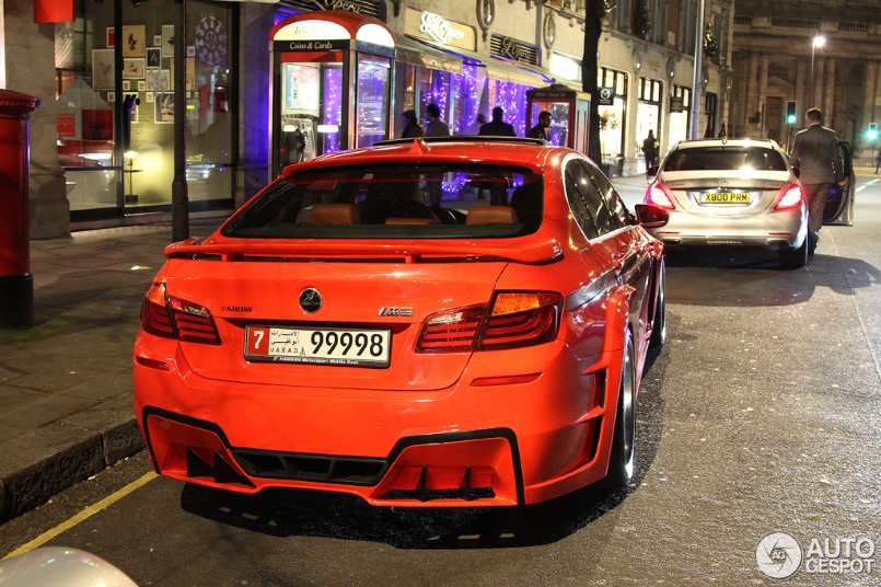 Red Hamann Mi5Sion In London DPCcars