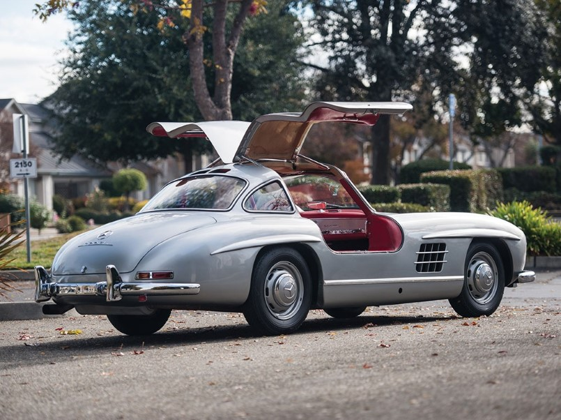 1955 mercedes benz 300 sl gullwing for sale dpccars. Black Bedroom Furniture Sets. Home Design Ideas