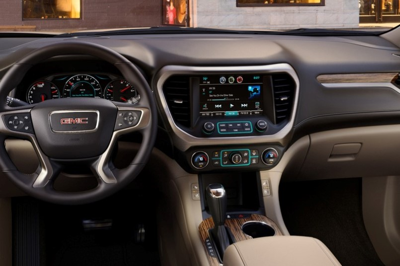2017 All New Gmc Acadia Denali Interior