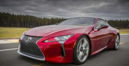 2017 Lexus LC 500 Photo Leaked