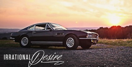 An enthusiast and his Classic Aston Martin DBS (2)