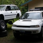 Awesome Subaru Legacy Wagon monster off-roader with a WRX STI engine (2)