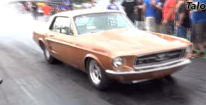 Classic Mustang with a Mitsubishi 4G63 4cyl Turbo Swap (2)