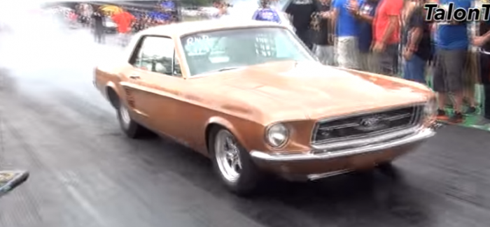 Classic Mustang with a Mitsubishi 4G63 4cyl Turbo Swap – Video