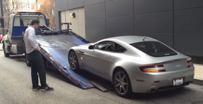 Doug DeMuro Aston Martin Already Broke Down (1)