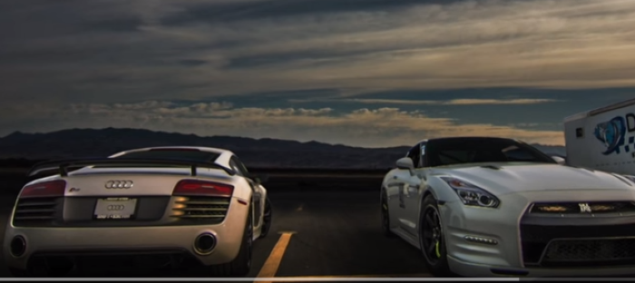 Drag Race Audi R8 V10 Vs F Typer C7 Z06 Viper Acr Ams Gtr Video