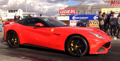 Drag Racing with a Tuned Ferrari F12 (2)