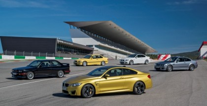 Exhaust sound battle between all generations of BMW M3 (1)