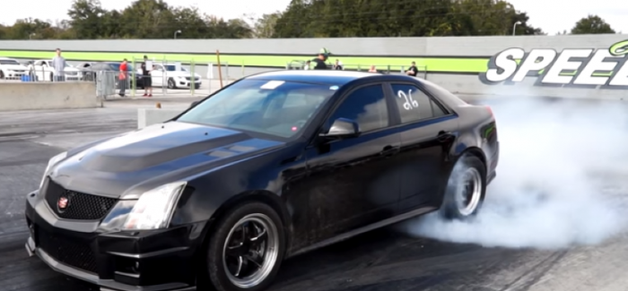Fast Cadillac CTS-V's at the track running 9's – Video | DPCcars