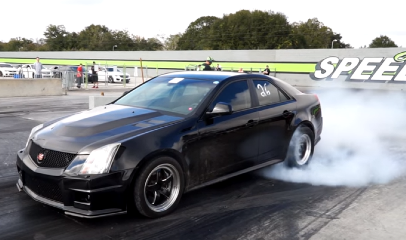 Fast Cadillac Cts V S At The Track Running 9 S Video