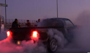 Insane GMC Syclone Burnout (1)