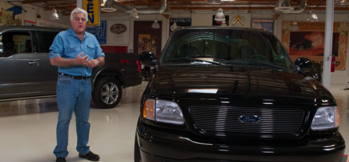 Jay Leno's Supercharged 2000 Harley-Davidson Ford F-150 – Video