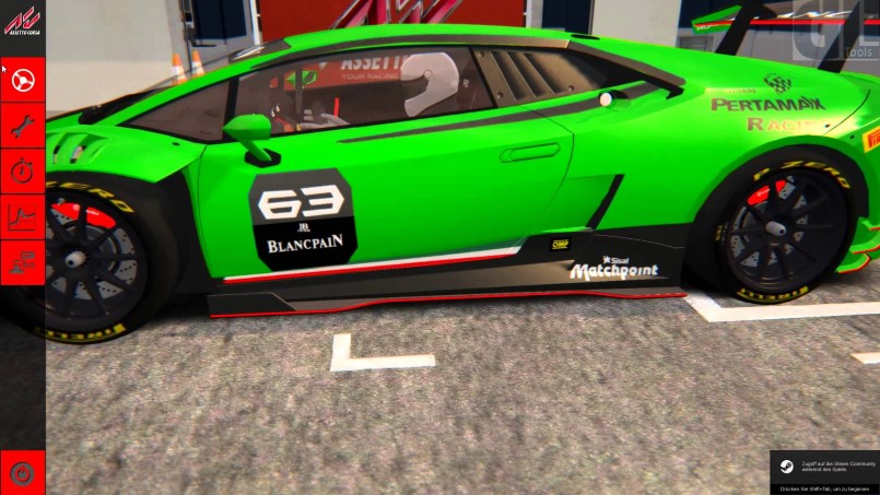 lamborghini huracan gt3 in assetto corsa video dpccars. Black Bedroom Furniture Sets. Home Design Ideas