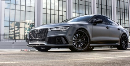 Matte Grey Audi RS7 with 21 inch Vellano VM35 wheels (10)
