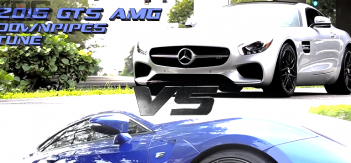 Mercedes AMG GTS vs Nitrous Lexus RCF, SRT Viper, and Camaro SS (1)