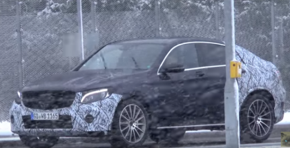 Mercedes-Benz GLC Coupe spied (1)