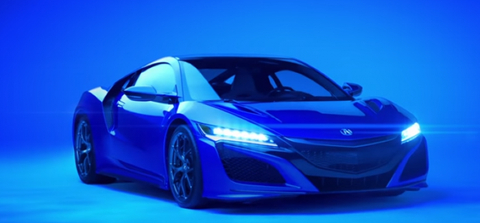 New Acura NSX 2016 Super Bowl Commercial – Video