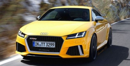 New Audi TT RS to have 395 Horsepower