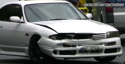 Nissan Skyline R32 R33 R34 Nurburgring Crashes and Turbo Sounds (1)