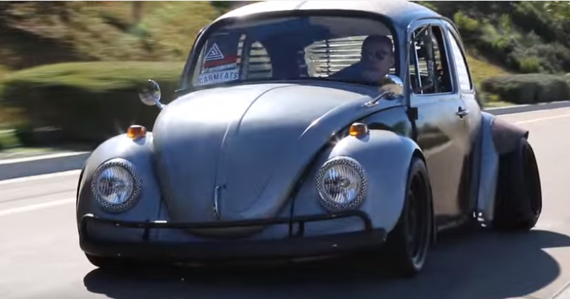 Rat Bug 1968 Vw Beetle Video Dpccars