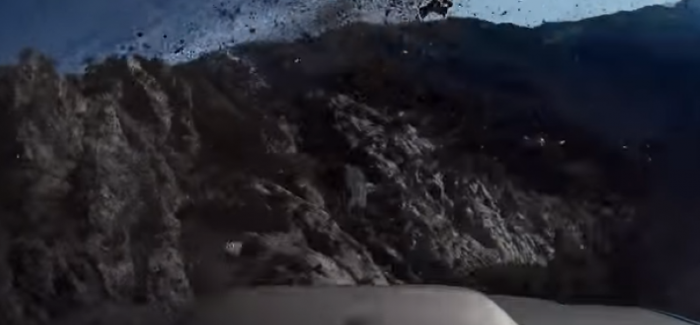Subaru Forester falls off cliff while on a spirited drive at Angeles Crest Highway – Video