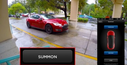 Tesla Model S Picks Owner With New Summon Feature (1)
