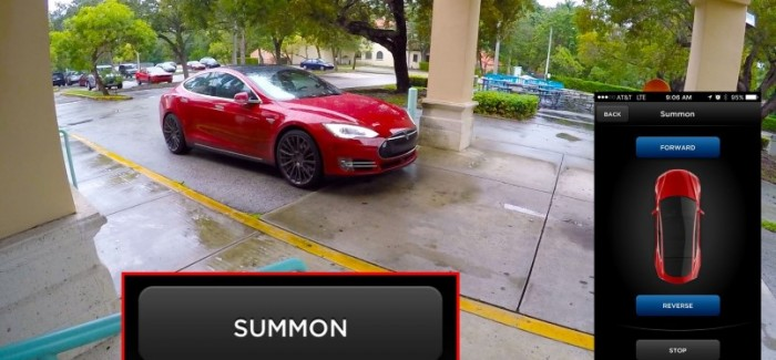 Tesla Model S Picks Owner With New Summon Feature – Video