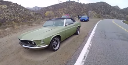 The Smoking Tire - 1969 Ford Mustang Convertible (1)