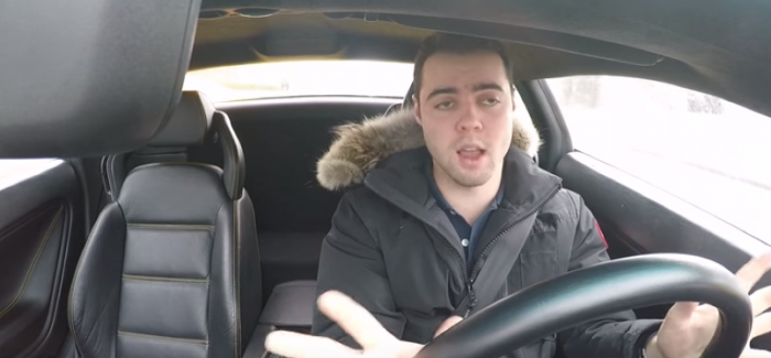 Things that suck when driving Lamborghini in the winter – Video
